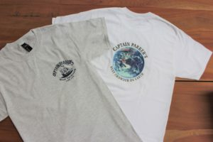 Grey and white t-shirts