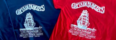 two Captain Parkers t-shirts